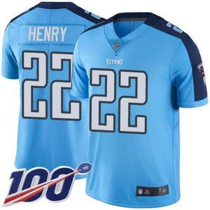 Mens Tennessee Titans Derrick Henry 100th Jersey